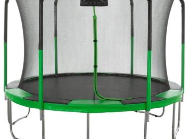 SKYTRIC Trampoline with Top Ring Enclosure Review