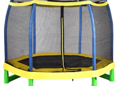 EnjoyShop 7-feet trampoline with Safety Net Review