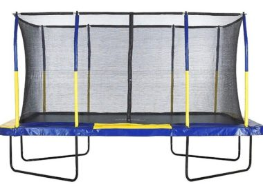 Upper Bounce Trampoline 9ft by 15ft Rectangular trampoline Review