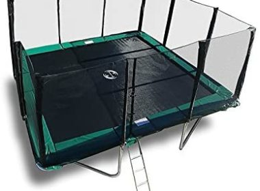 Galactic Xtreme Gymnastic Rectangle Enclosed Trampoline Review