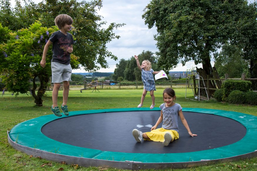 Top in-ground trampolines in 2021 - Trampoline Guide