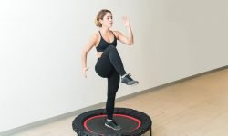 The main benefits of trampoline yoga fitness