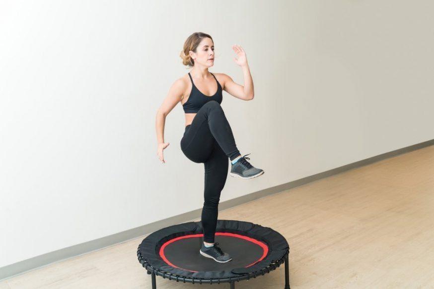 The main benefits of trampoline yoga fitness - Trampoline Guide