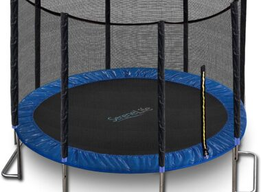 Serene Life Trampoline with Enclosure Review
