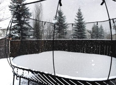 Is there a way to protect trampoline in winter?