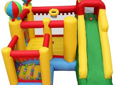 BESTPARTY Inflatable Bouncy Slide Bounce House Review