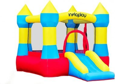 INFLAPLAY Bounce House Inflatable Jump' n Slide Review